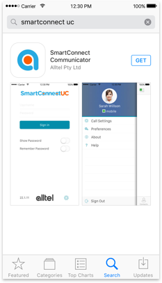 download SmartConnect UC app for iOS