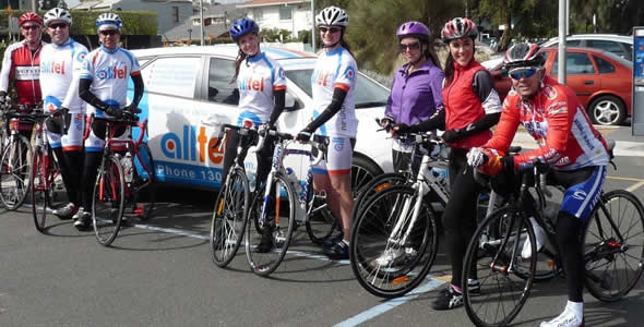 Riding Along With Alltel